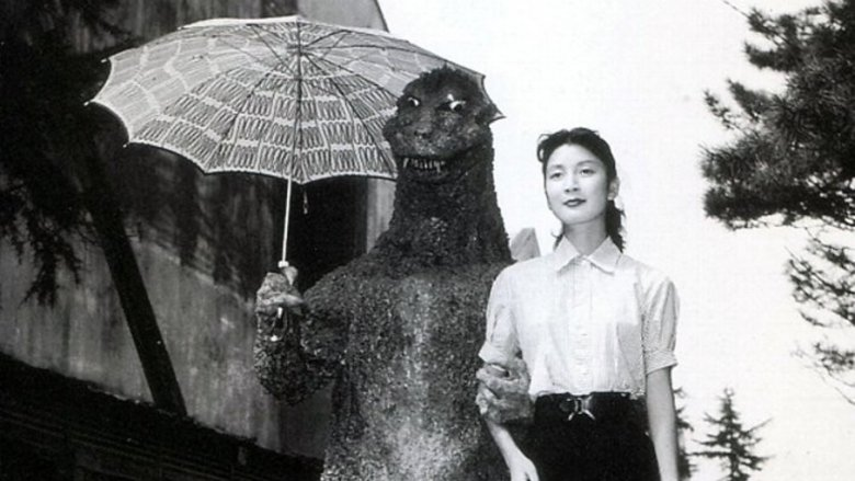 godzilla set photo