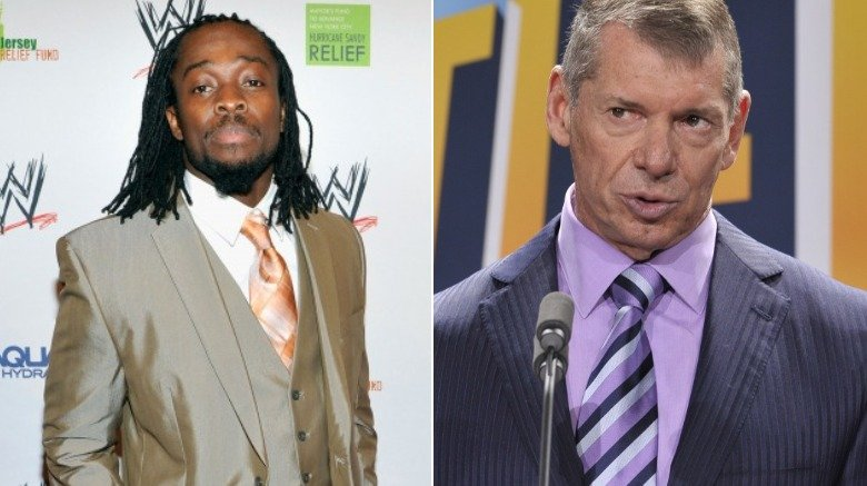 kofi kingston vince mcmahon