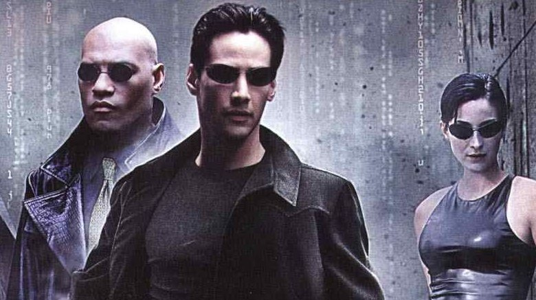 Bizarre things on the Matrix movie sets