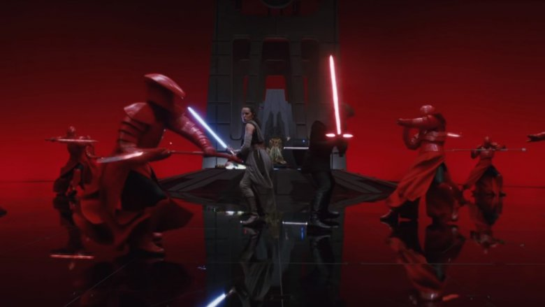 praetorian guard fight last jedi