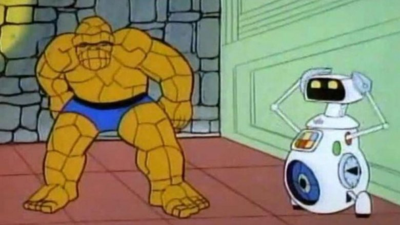 Herbie robot replaced human torch fantastic four