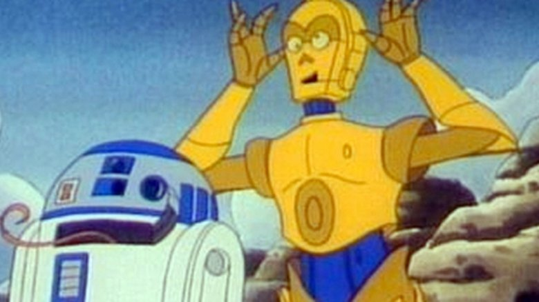 C-3PO and R2-D2 in Star Wars: Droids