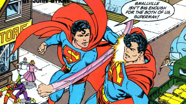 Superboy vs Superman