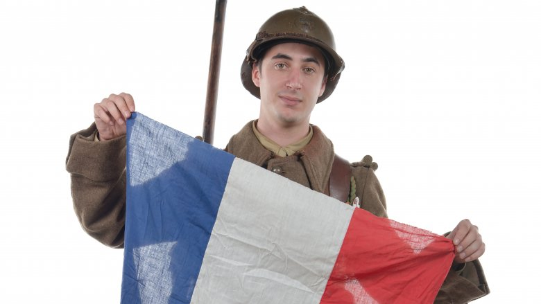 French soldier wwii