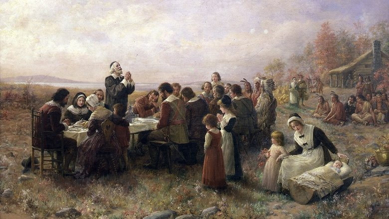 Thanksgiving turkey pilgrims
