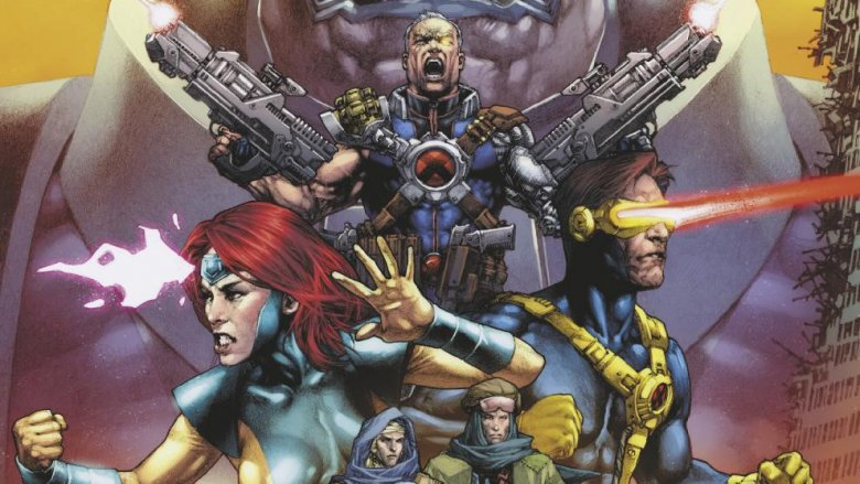 Cable xmen cyclops jean grey