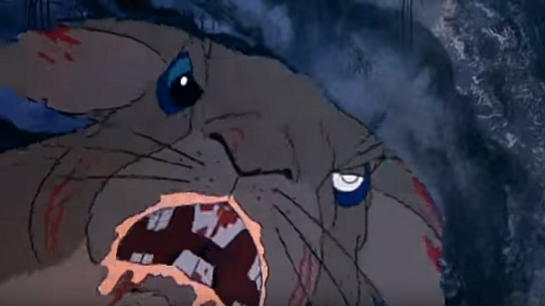 Scene from Watership Down