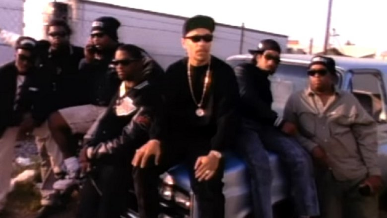 """Ice-T and posse in """"Mind Over Matter"""" video"""