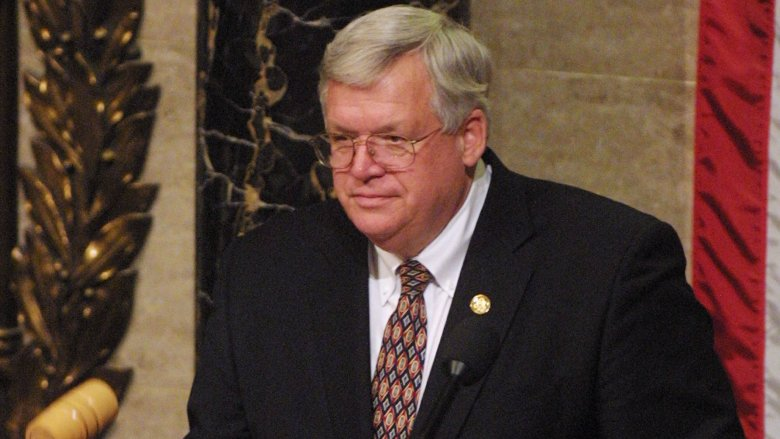 Speaker of the House Dennis Hastert