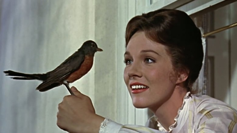 mary poppins with bird