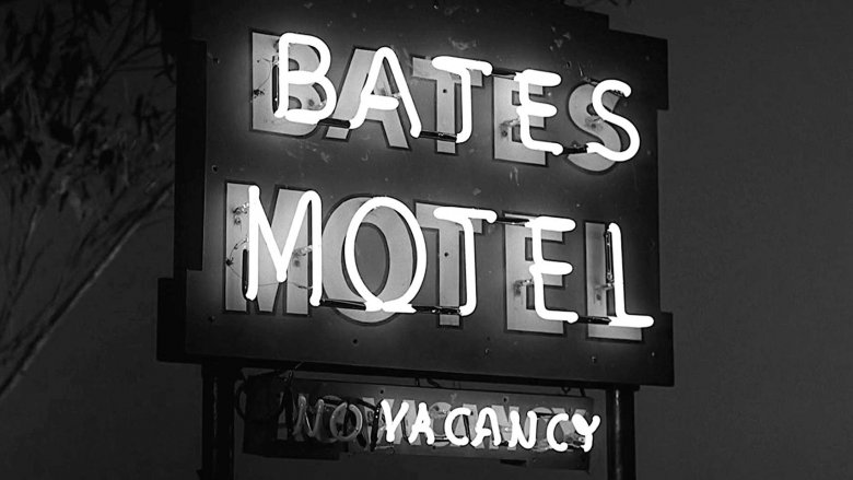 psycho bates motel sign