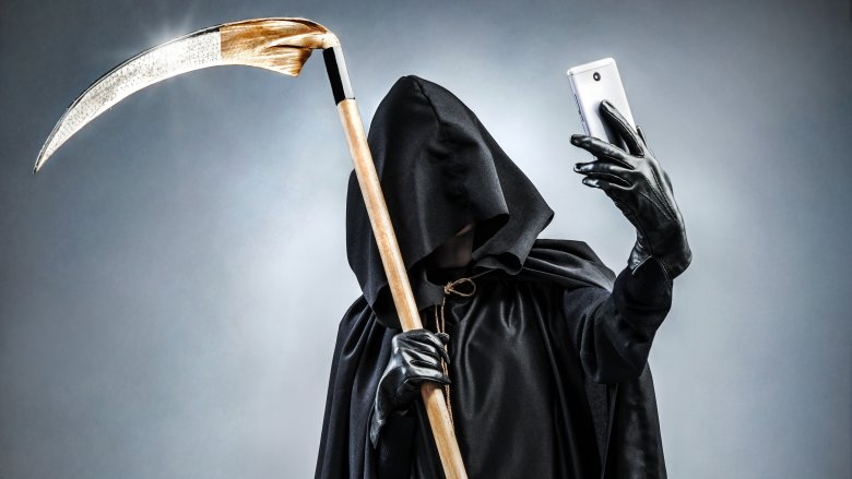 phone death grim reaper