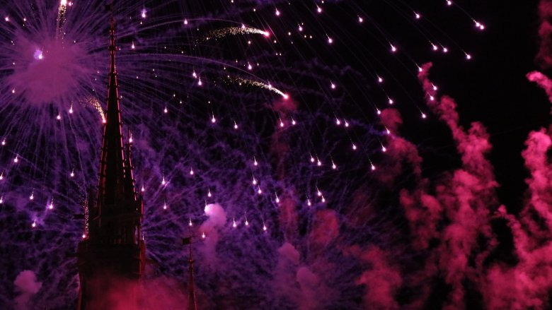 Disney World fireworks show