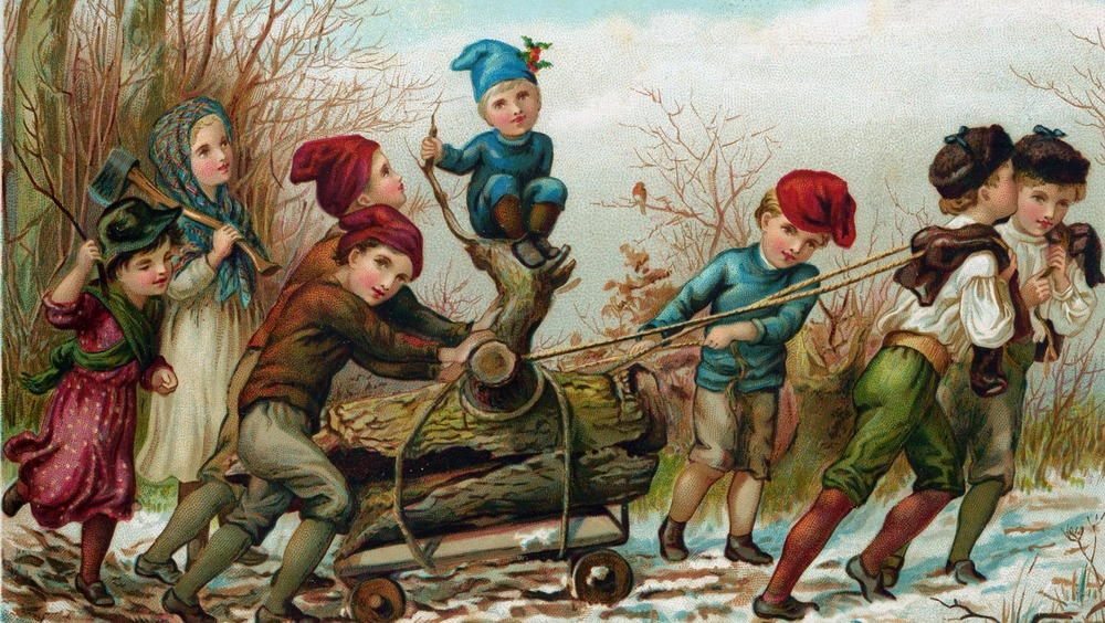 Strange Christmas traditions that were considered normal 100 years ago