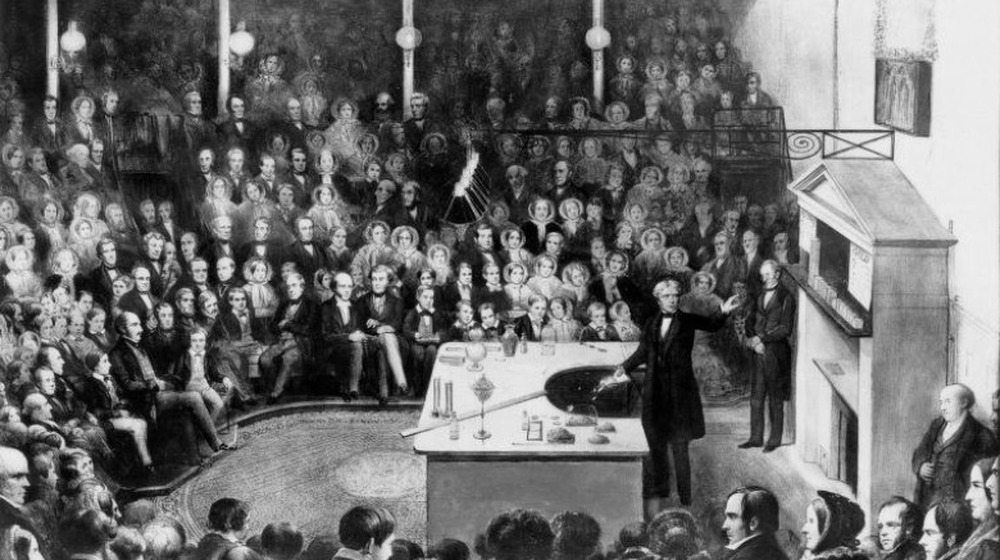michael faraday christmas lecture