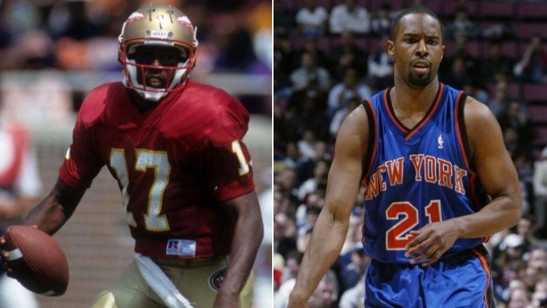 Charlie Ward Football and Basketball