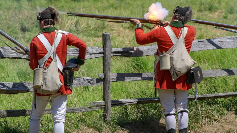 revolutionary war redcoats