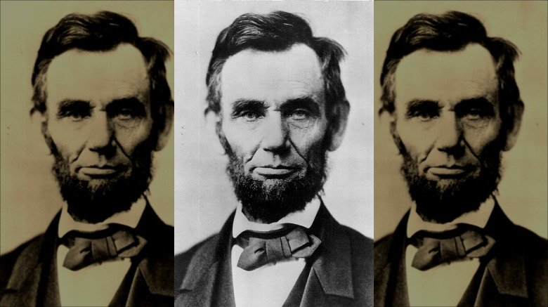 Abraham Lincoln's face