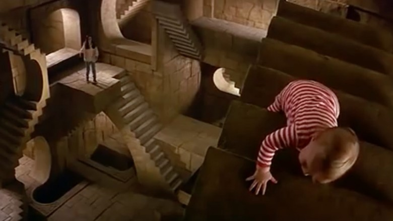 Jareth To Say The Least Has A Total Disregard For Baby Safety Labyrinth Is A Fairy Tale Of Sorts So There Have To Be Stakes And There Has To Be A
