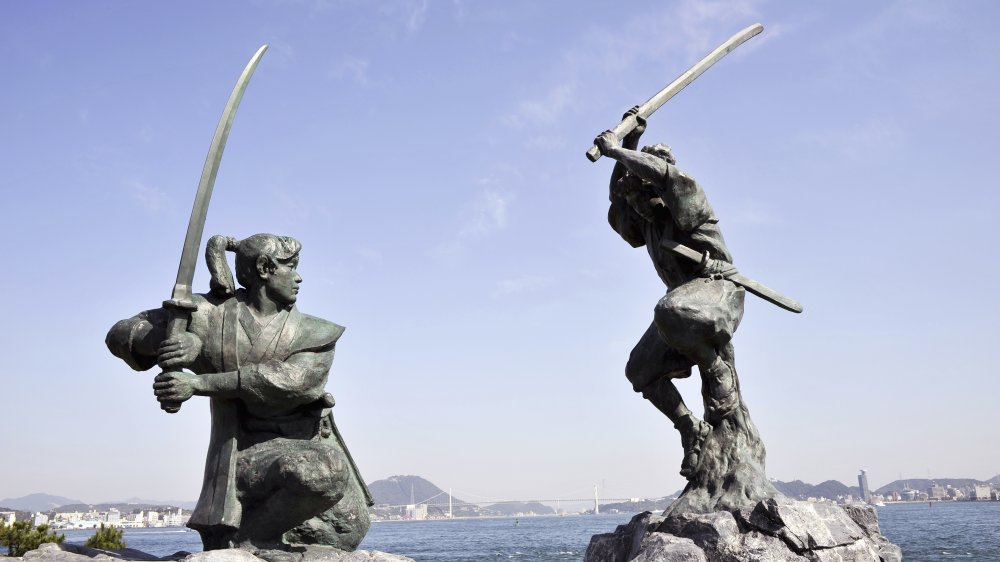 The Japanese swordsman who turned into an artist