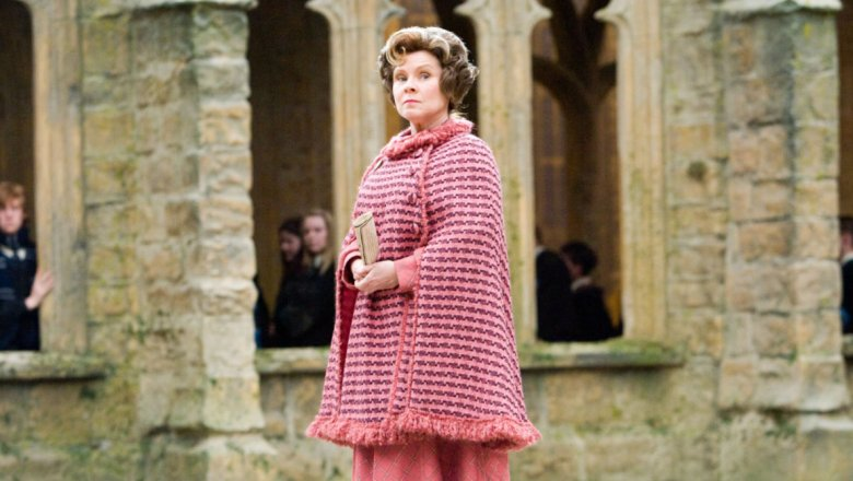 Imelda Staunton in Harry Potter and the Order of the Phoenix