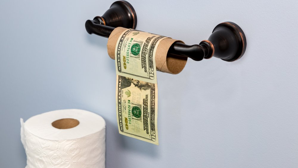 Toilet paper money
