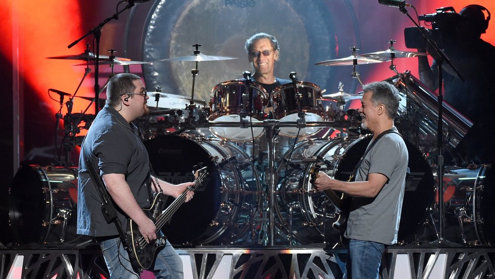 The Reason Alex Van Halen Sued His Ex Wife