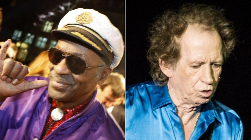 The reason Chuck Berry once punched Keith Richards in the face