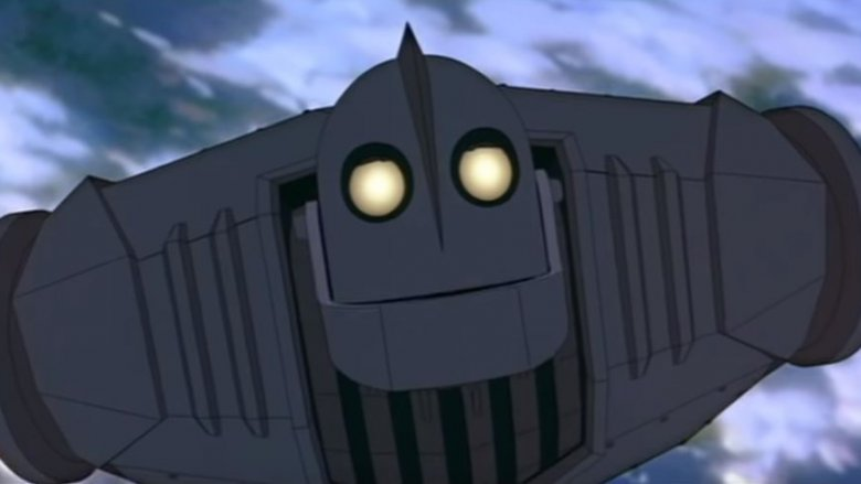 brad bird iron giant death space