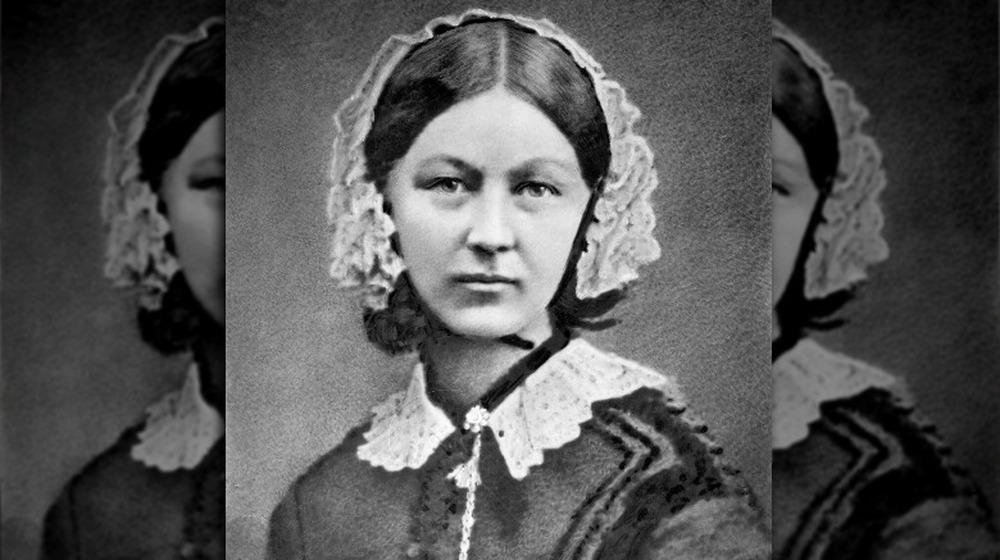 Portrait of Florence Nightingale