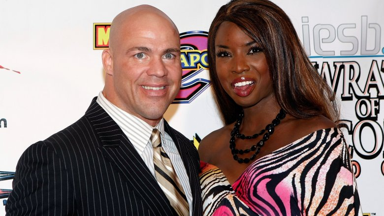 kurt angle and rhaka khan