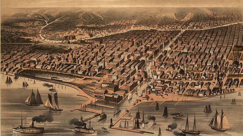 Chicago before the fire
