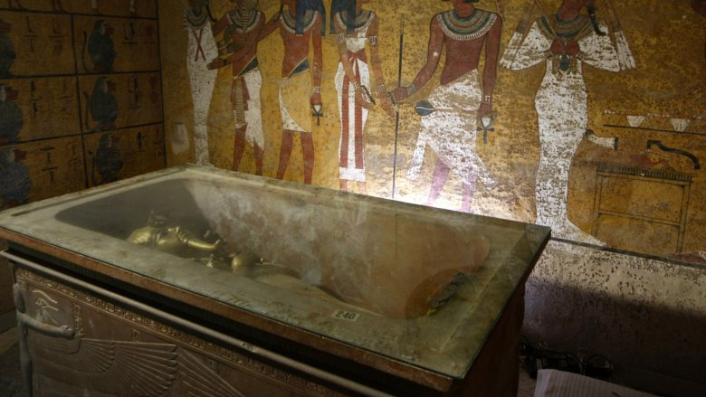 egyptian tomb king tut