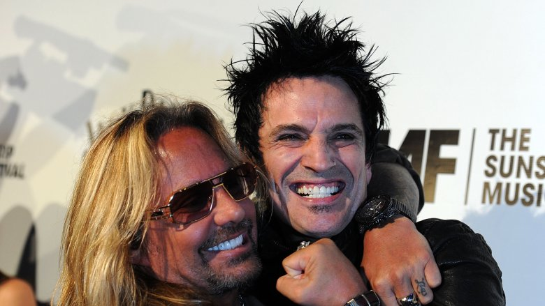 Vince Neil and Tommy Lee