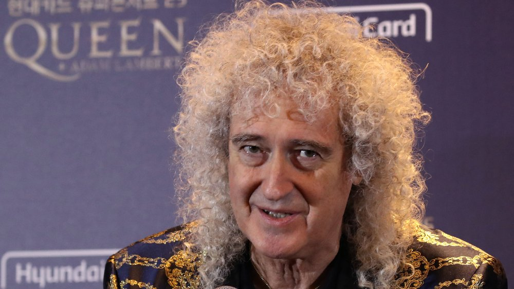 Brian May in January 2020