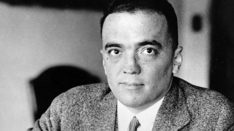 J Edgar Hoover Making Terrible Plans