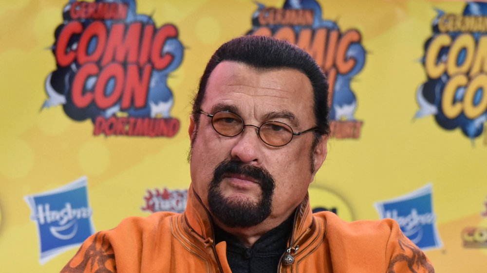 This is why the mob went after Steven Seagal