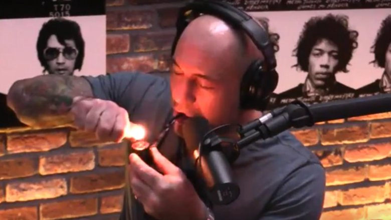 joe rogan marijuana
