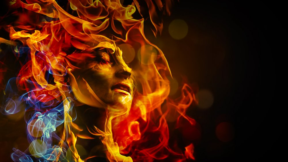 What does it mean when you dream about fire?