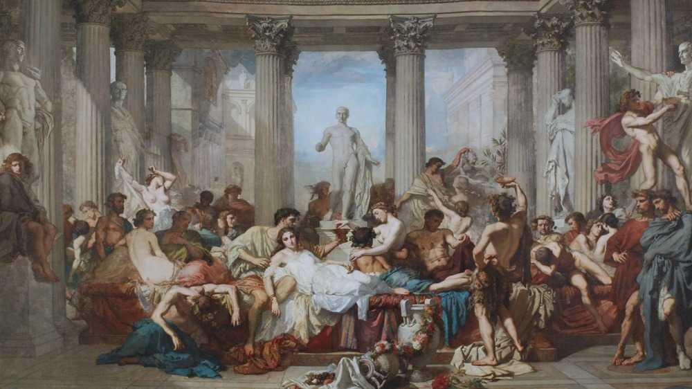 decadence of the romans