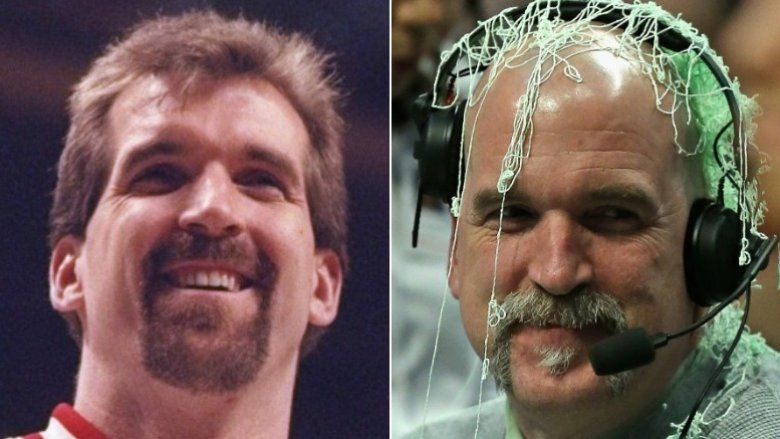 Bill Wennington then and now