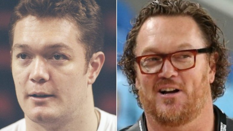 Luc Longley then and now