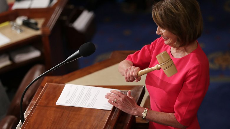 nancy pelosi house of reps gavel