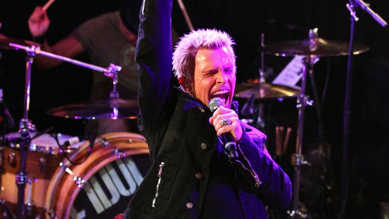 Billy Idol onstage in 2014